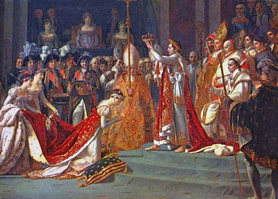Anointing of Napoleon I