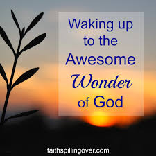 wake up wonder of God.May5