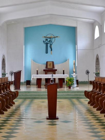 Trappist chapel